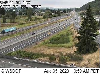 SR 167: 15th St SW, West