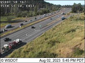 SR 167: 15th St SW, East