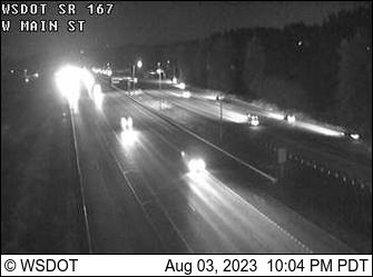 SR 167 at MP 14.7: W Main St
