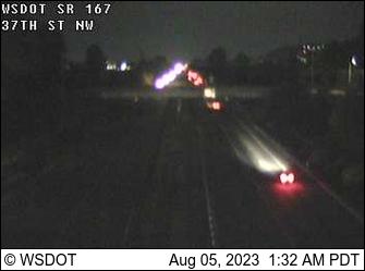 SR 167 at MP 17.1: 37th St NW