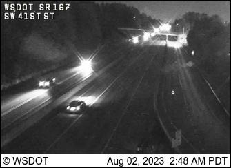 SR 167 at MP 24.4: SW 41st St