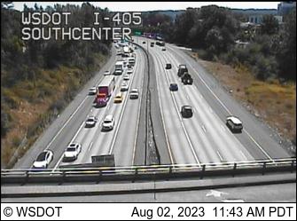 I-405 at MP 0.3: Southcenter