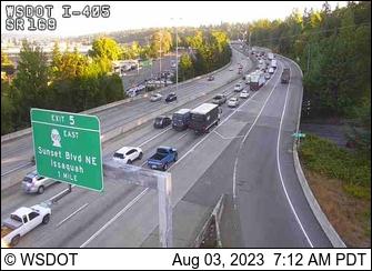 I-405 at MP 4.1: SR 169 Interchange