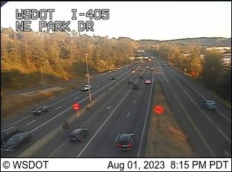 I-405 at MP 5.3: NE Park Dr