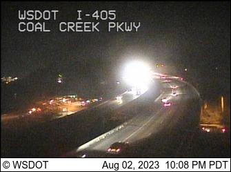 I-405 at MP 10.1: Coal Creek Pkwy