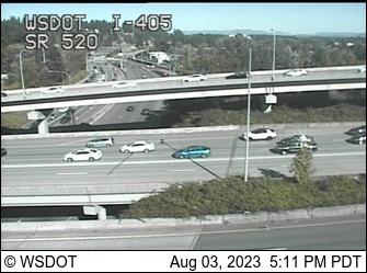 I-405 at MP 14.8: SR 520 Interchange