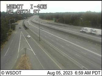 I-405 at MP 18: NE 85th St
