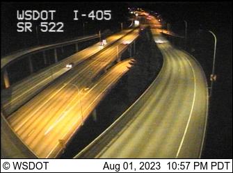 WSDOT - I-405 at MP 23 6: SR 522 Interchange Camera