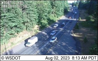 I-405 at MP 28.2: 204th St SE, SB