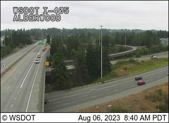 I-5 at MP 183: I-405 Interchange (Alderwood)