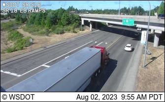 SR 516 at SR 18