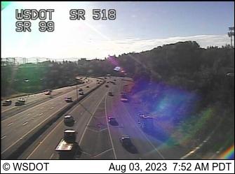 SR 99 at MP 20.3: SR 518 Interchange