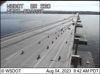 SR 520 at MP 2.4: West Bridge