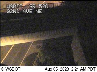 SR 520 at MP 5.2: 92nd Ave NE