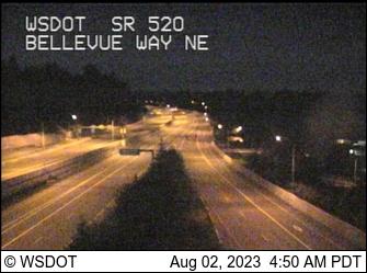 SR 520 at MP 5.9: Bellevue Way NE (104th Ave NE)