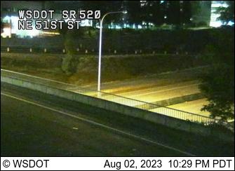SR 520 at MP 10.7: NE 51st St