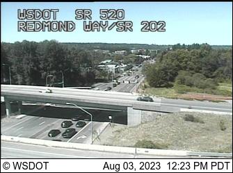 SR 520 at MP 12.8: Redmond Way