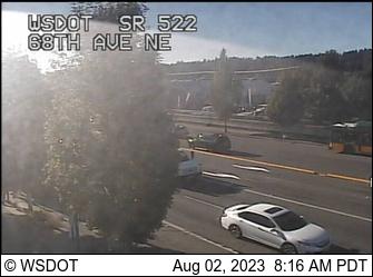 SR 522 at MP 7.2: 68th Ave