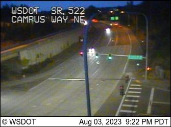 SR 522 at MP 10.5: S Campus Way