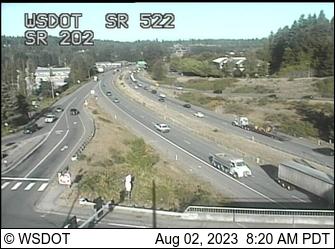 SR 522 at MP 12: SR 202 Interchange