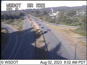 SR 522 at MP 14: SR 9 Interchange