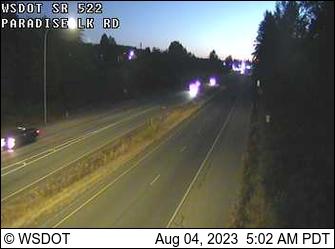 SR 522 at MP 16.5: Paradise Lake Rd