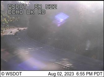 SR 522 at MP 18.4: Echo Lake Rd