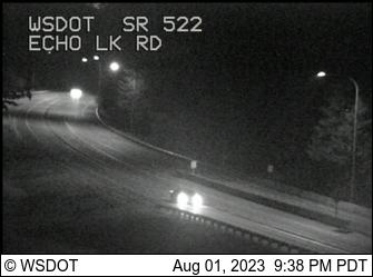 WSDOT - SR 522 at MP 18 4: Echo Lake Rd - Seattle Washington