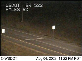 SR 522 at MP 18.9: Fales Rd