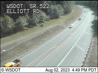 SR 522 at MP 20.2: Elliott Rd
