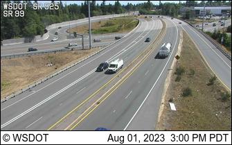 SR 525 at MP 2.8: SR 99 Interchange