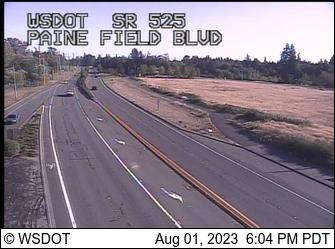 SR 525 at MP 5.5: Paine Field Blvd