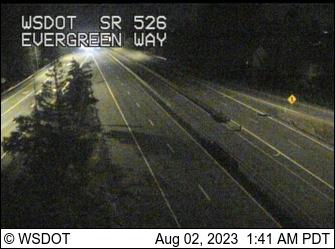 SR 526 at MP 3.5: Evergreen Way