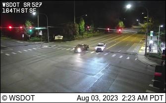 SR 527 at MP 6.6: 164th St SE