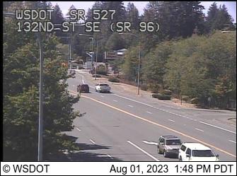SR 527 at MP 8.8: 132nd St SE / SR 96