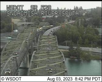 SR 529 at MP 4.1: Snohomish River South