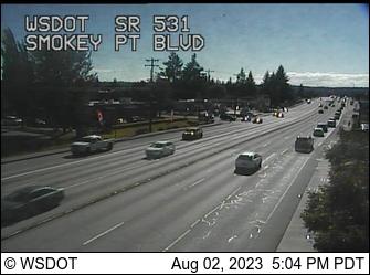 SR 531 at MP 6.6: Smokey Point Blvd