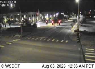 SR 531 at MP 8.1: 59th Ave. NE