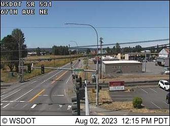 SR 531 at MP 8.5: 67th Ave. NE