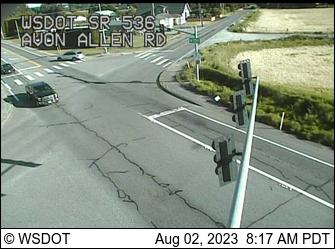 SR 536 at MP 2.6: Avon Allen Rd