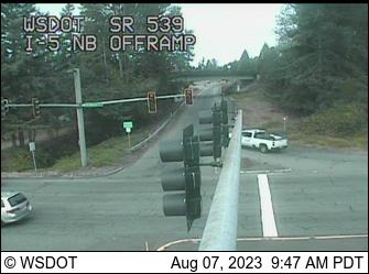 SR 539: I-5 NB Ramps