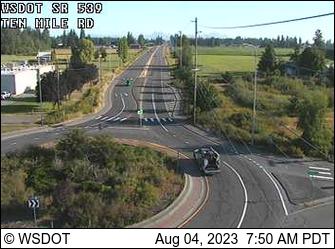SR 539 at MP 5.9: Ten Mile Rd
