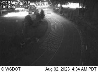Web Cam of Aldergrove border traffic