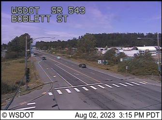 SR 543 at MP 0.2: Boblett St