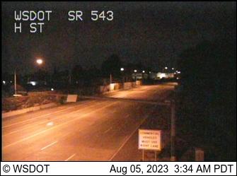 SR 543 at MP 0.5: H St