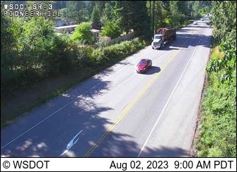 SR 3: Pioneer Hill Rd Looking North
