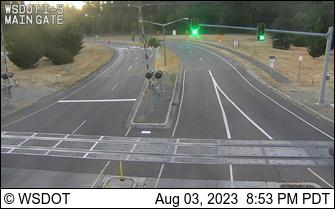 I-5: JBLM Main Gate Rail Crossing