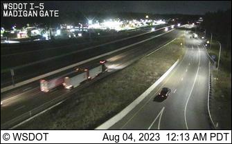 I-5 at MP 122.6: Berkeley St