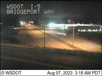 I-5 at MP 125.9: Bridgeport Way