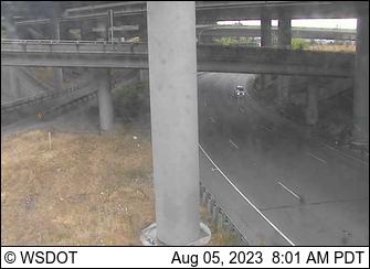 I-5 at 133.7: SB I-705 to NB I-5/SB SR 7, Ground